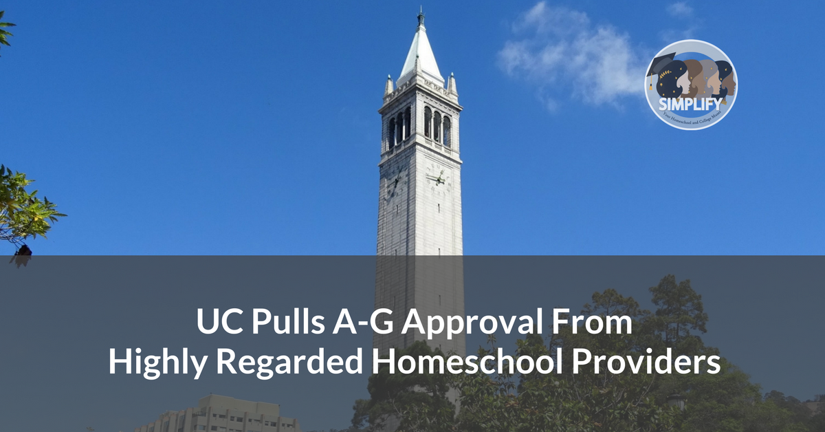 UC a-g approval